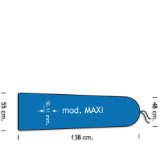 Polyester/Siliconen schuim Mod. Maxi