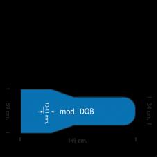 Polyester/Siliconen schuim Mod. DOB