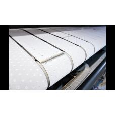 Polyester naaldvilt geperforeerd İnvoerband